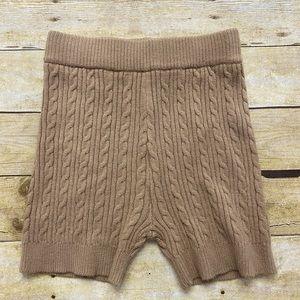 Lovers & Friends knit shorts